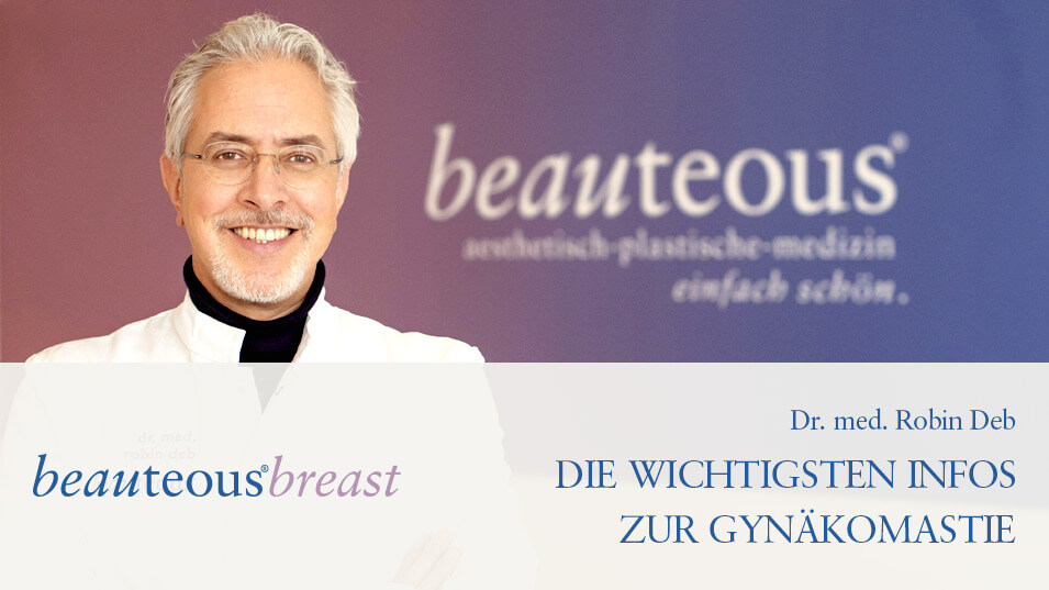 Gynäkomastie Frankfurt - Video-Thumbnail Dr. Deb beauteous